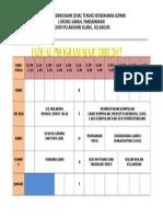 Jadual Program Maju Diri
