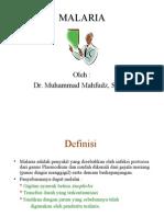 Malaria- Dr. Mahfudz
