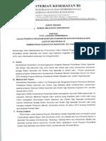 Surat Edaran PPDS 16