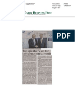 Sunday Business Post 31 May 2015