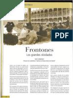 Frontones. Los grandes olvidados (Revista Hispania Nostra nº 18. Marzo 2015 )