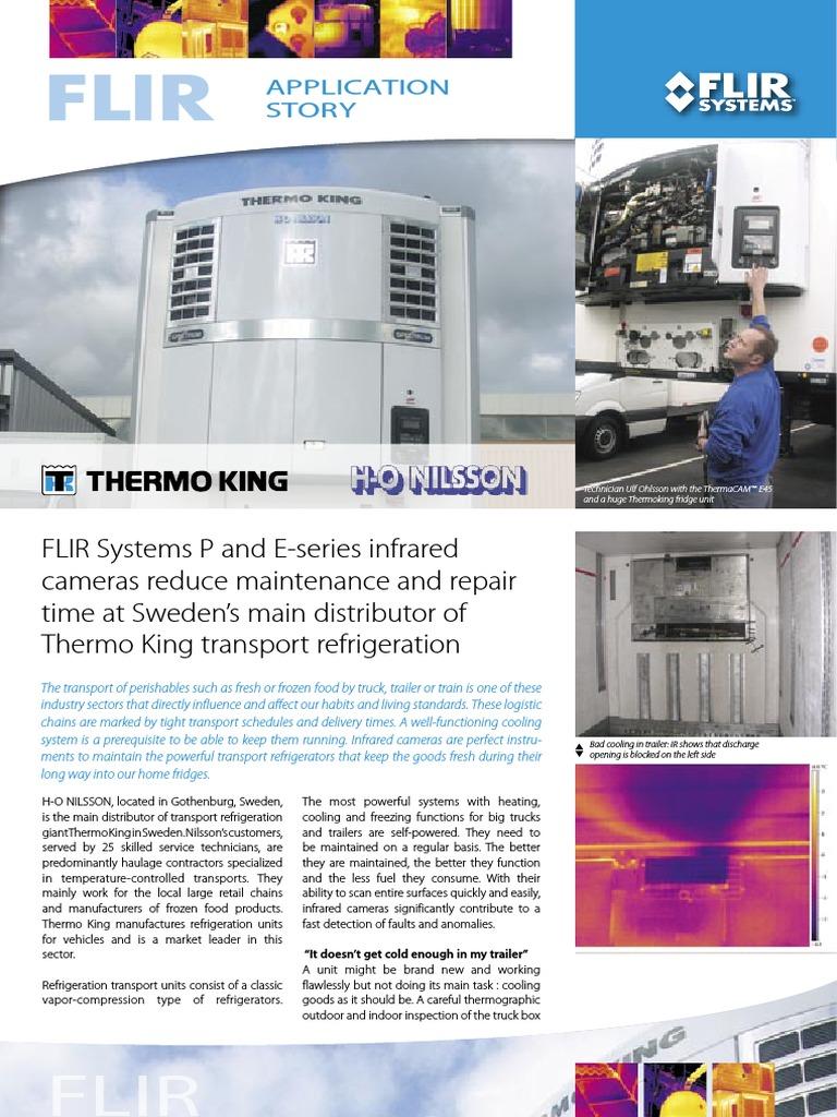 ThermoKing Transport Frigorifer | Thermography | Refrigeration
