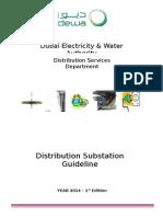 Guideline of 11-22 KV Substation-26.01.2009.Docx 2013