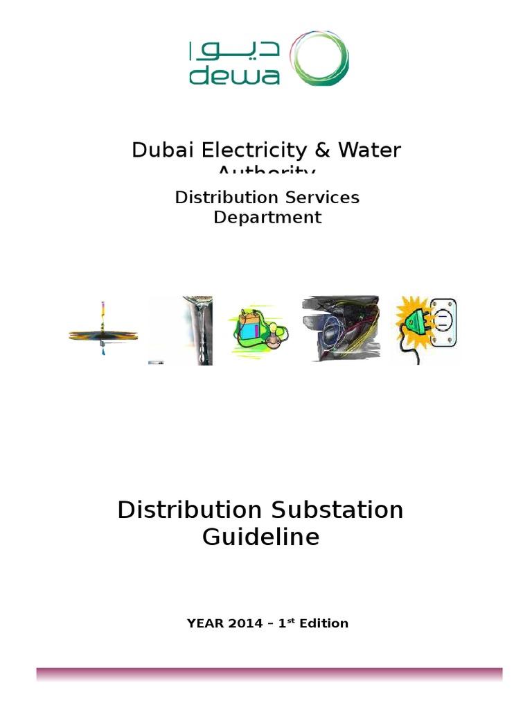 guideline of 11 22 kv substation 26 01 2009 docx 2013 electrical rh es scribd com dewa distribution substation guideline pdf distribution substation guideline dewa