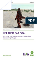 Let Them Eat Coal: Why the G7 must stop burning coal to tackle climate change and fight hunger