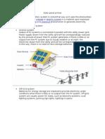 Solar Panel Primer