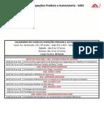 Calendario Curso Inspecoes Prediais Autovistoria