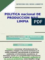 (1) Politica Nacional de P+L