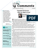 Integrated Disclosures...What You Need To Know