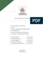 ATPS de Letramento e Alfabetização 4 SEMESTRE