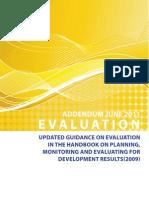 Evaluation Addendum June 2011
