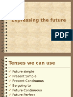 PPT. Expressing the Future