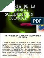 Historia de La EconomÍa Solidaria en Colombia