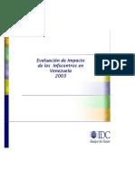 Evaluación de Impacto de Los Infocentros En