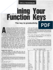 Defining Your Function Keys