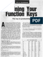 Defining Your Function Keys