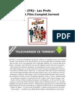 ~ [FR]~ Les Profs 2.2015.Film.Complet.torrent