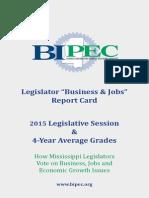 BIPEC Scorecard 2015 #msleg