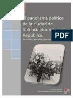 El Panorama Político de La Ciudad de Valencia Durante La II República