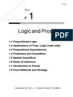 1.Logic and Proofs