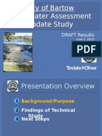 City of Bartow Stormwater Assessment