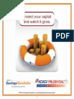 ICICI Savings Suraksha Brochure