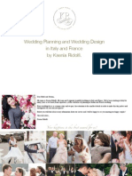 Wedding Planning and Wedding Design in Italy and France by Ksenia Ridolfi