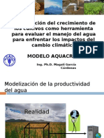 Modelamiento AquaCrop