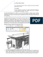 11-Illuminance Rendering in Revit