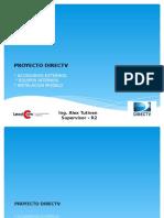 Detalle de Accesorios e Instalacion - Proyecto Directv