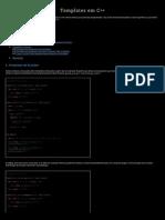 Templates em C++