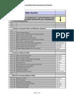 copy of skills checklist