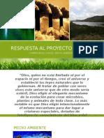 Presentación catequesis medio ambiente