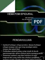 Hematom Epidural