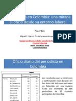 El Periodista en Colombia y en Cartagena Estudio WSJ UTB Miguel Garces