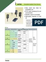 Takex GS-5SN Data Sheet