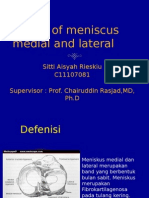 Lesion of Meniscus Medial and Lateral