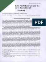 Revelaciones 20 Intertextual Analisis