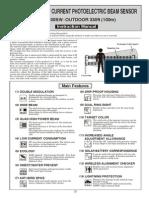 Takex PXB-100SW Installation Manual