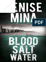 Blood Salt Water by Denise Mina Extract