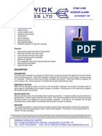 DS160 X7600 Lone Worker Alarm Data Sheet