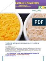 1st June,2015 Daily Global Rice E-Newsletter by Riceplus Magazine