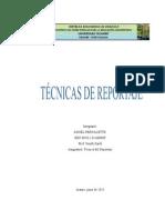 Tecnicas de Reportaje -Ángel