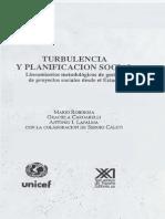 ROBIROSA MARIO Turbulencia y Planificacion Social