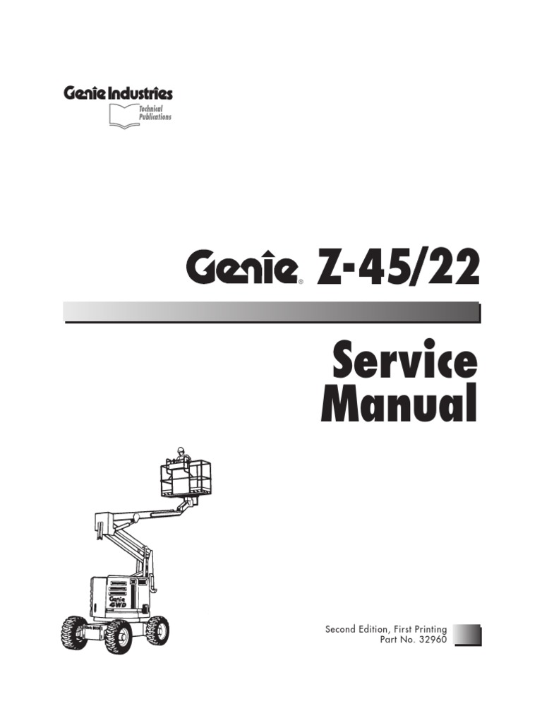 manual genie z45 22 buena diesel engine fuel injection rh scribd com service manual generac model 0058701 service manual generac model 9712-2