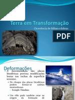 (9) - 2008-2009 - Ciências Naturais - 7º Ano - Dinâmica Interna da Terra - Dobras e Falhas