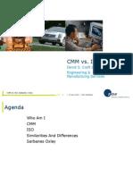CMM vs ISO