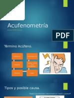 Acufenometría