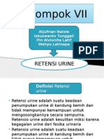 Ppt Retensi Urine