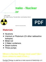 how to- nuclear generator